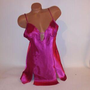 Fredericks of Hollywood Lingerie Chemise Slip Gown Large Satin
