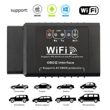 WiFi OBD2 ELM327 Bluetooth Car Diagnostic Code Reader Mini Scanner Tool For IOS