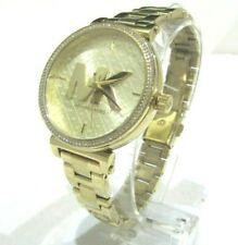 Michael Kors Women's Sofie Crystal Dial Gold Tone Watch 39mm MK4334 NWT $250