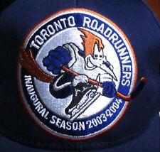 TORONTO ROADRUNNERS baseball hat 2003 inaugural season hockey AHL cap embrodiery