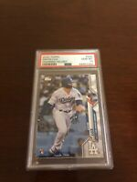 Gavin Lux Topps 2020 RC PSA 10 #292 Series One Rookie Card LA Dodgers (Quantity)