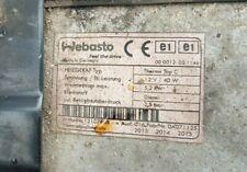 Nouveau Webasto Thermo Top C E Z chauffe-eau air de combustion moteur 12 V