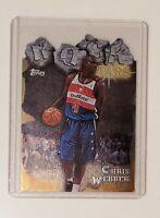 1997-98 Topps Rock Star Die Cut Chris Webber Card #RS3