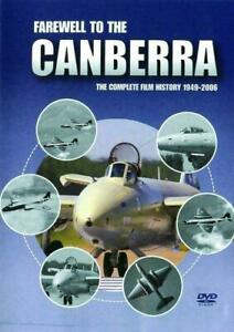 FAREWELL TO THE CANBERRA DVD COMPLETE FILM HISTORY 1949-2006 NEW & SEALED