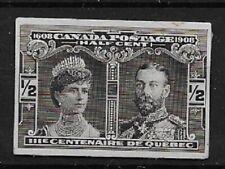 CANADA 1908 Quebec Tercentenary ½c sepia small die - 9057