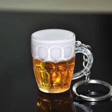 Harz Bier Tasse Schlüssel Kette Auto Schlüsselringe WeihnachtAB