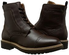 Calvin Klein Jeans Men's Tristram Leather Boots, Size US 9 M
