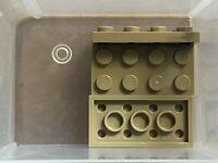 LEGO Parts - Dark Tan Plate 2 x 4 - No 3020 - QTY 5