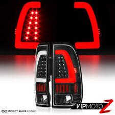 [NEWEST FiBeR OpTiC] 1997-2003 Ford F150 F250 Superduty Black LED Tail Lights
