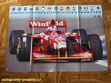 H. H. FRENTZEN (Williams) / Ralf SCHUMACHER (Jordan) - poster cca 8xA4 Format