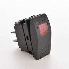 12V WATERPROOF BAR ARB CARLING ROCKER TOGGLE SWITCH LED LIGHT CAR BOAT REDLA