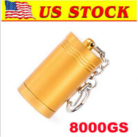 Magnetic 8000GS Portable Bullet Tag Tool for EAS Security, Gold [US in STOCK]