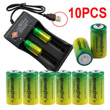 10pcs Rechargeable Batteries 3.7V CR123A 16340 for Netgear Arlo Security Camera