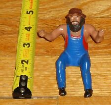 1985 WWF WWE LJN Hillbilly Jim Thumb Wrestling figure NWA Memphis
