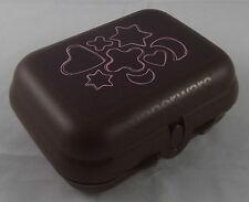 Tupperware Kleine Twindose Twin Dose Box Motiv Plätzchen Braun / Pink Neu OVP