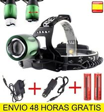 Linterna frontal recargable CREE T6 LED DE CABEZA OUTDOOR HEADLAMP 8800mAh