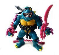 Slash Vintage TMNT Teenage Mutant Ninja Turtles Figure Near Complete 1991 90s