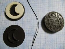 FISHER PRICE FUN FOOD OREO MATCHIN MIDDLES REPLACEMENT COOKIE! SHAPE MOON
