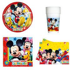 KIT TAVOLA MICKEY MOUSE Party Festa Disney Minnie Topolino Compleanno Cartone