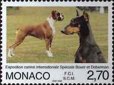 Timbre Chiens Monaco 2148 ** année 1998 lot 10816