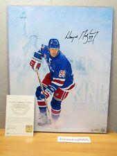 Upper Deck Wayne Gretzky Autographed King of New York 16x20 Photo #21/99 w/ COA