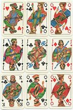 ANCIENT BULGARIA KING'S AND QUEEN'S PLAYING CARDS 1989 rare almost mint