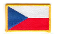 CZECH REPUBLIC CZECH FLAG PATCHES COUNTRY PATCH BADGE IRON ON NEW EMBROIDERED