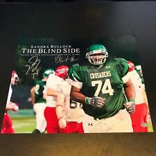 Michael Oher & Quinton Aaron Signed 16x20 The Blind Side Movie Photo