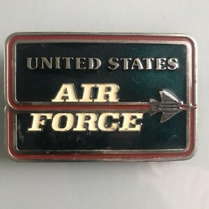 Belt Buckle Stating UNITED STATES AIR FORCE  believe Made in U S A