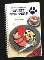 #E Cookbook - Paschal High School - Fort Worth Texas Panther Picnic Recipes 1995