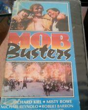 Mob Busters (1985) Richard Kiel, Misty Rowe Format: VHS Tape