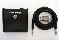 Carlsbro Fußschalter Tank mit LED u. Polaritätsumschalter