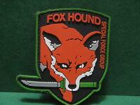 Toppa -  Patch  in Caucciù /Pvc/Rubber  - FOX HOUND  -  Cm. 7x9,5