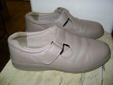 Dr Scholls White Leather Dbl Hook//loop Woman's Size 6 1//2W Nurse shoes NIB