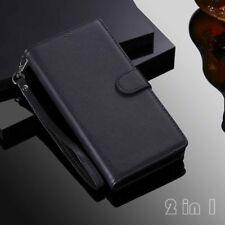 Магнитный съемный кожаный бумажник откидной чехол для iPhone 11 6s 7 8 Xr XS макс