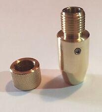 Crosman 2240 2250 Brass Silencer Adapter 1/2 UNF With Thread Protector
