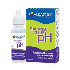 NEW ALKAZONE ALKALINE PH BOOSTER DROPS WITH ANTIOXIDANT (1.2 OZ)