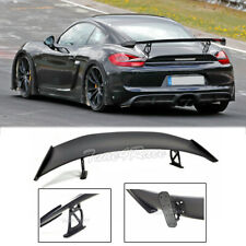 For 17-Up Porsche 718 Boxster & Cayman GT4 Style ABS Rear Trunk Wing Spoiler Lid
