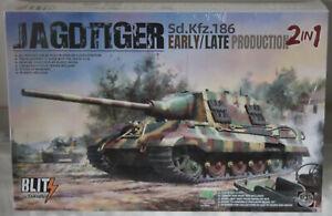 TAKOM 1/35 Jagdtiger Sd.Kfz.186 Early/Late production