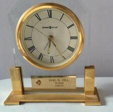 "Howard Miller ""Paramount"" Table/Desk/Mantle Clock w/Alarm - #613-573 **AS IS**"