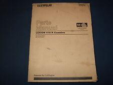 Cat Caterpillar Lexion 470 R kombinieren Teile Buch Handbuch S/N 7651-UP