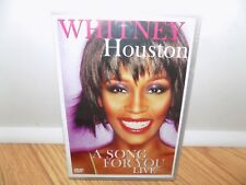 Whitney Houston: A Song for You Live (DVD, 2007) BRAND NEW, SEALED