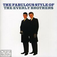 THE EVERLY BROTHERS - THE FABULOUS STYLE OF THE EVERLY BROTHERS  CD NEU