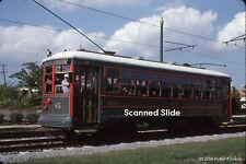 Original Kodachrome Slide: Charlotte Trolley 85 at Bland Street IB <2>