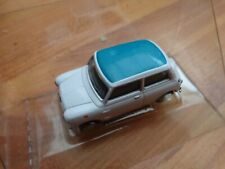 CORGI CARARAMA 1/72 CLASSIC WHITE + BLUE ROOF MINI COOPER CAR MODEL