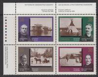 CANADA #1237-1240 38¢ Canadian Photography UL Inscription Block MNH