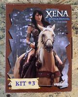 XENA Warrior Princess Fan Club Kit #3 VHS Tape/Poster/Photos/Fanzines/Catalog