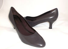 Easy Spirit Litany leather pump brown sz 9 WIDE New