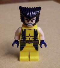 Lego Superhelden - Wolverine Figur ( X-Men Xmen Volverin ) Super Heroes Neu