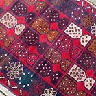 Handmade Afghan Bahor Accent Rug 3x6 Camel Hair Natural Dyes Tribal & Nomadic